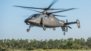 Sikorsky S-97 Raider Attack Helicopter First Flight