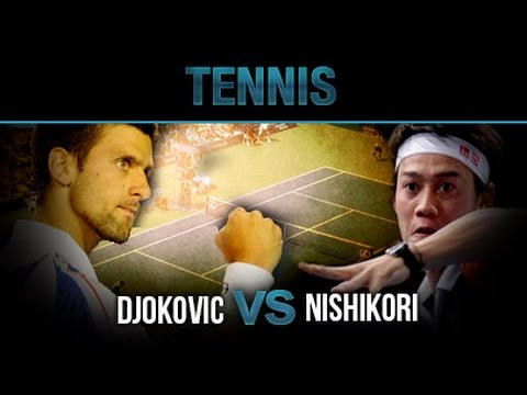 Novak Djokovic vs Kei Nishikori - Hightlight & Hot Shot Dec15,2014