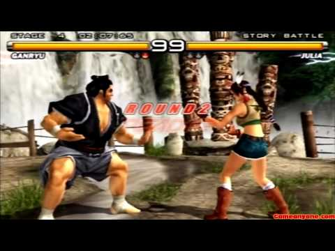 Tekken 5 - Story Battle - Ganryu Playthrough video