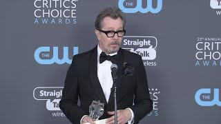 Oldman's Critics' Choice win: 'It's no hardship'