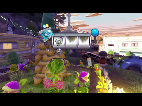 Plants vs. Zombies Garden Warfare Walkthrough - YETI SMACKDOWN!! Gameplay Let's Play (1080p HD)