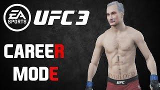 EA SPORTS UFC 3, режим карьеры, часть 1. Начало пути. [PS4 Pro]