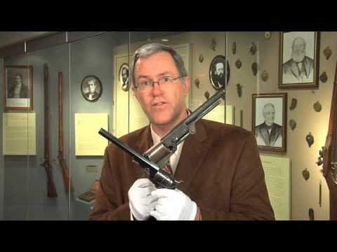 Colt Percussion revolvers. featuring the Paterson\.  A National Firearms Museum Treasure Gun.