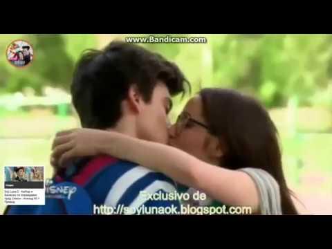 Soy Luna 2 - Нина и Гастон се целуват - епизод 59 + Превод