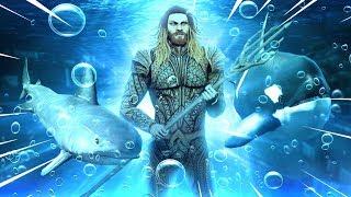EPIC Aquaman mod & Atlantis Underwater City (GTA 5 mods)