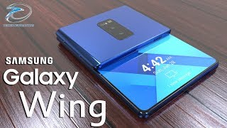 Samsung Galaxy Wing Updated 2 by 3 Folding Design Based on Latest Leaks