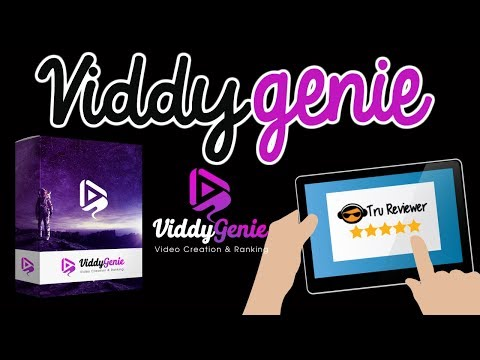 ViddyGenie Review Demo and 40+ Super Mega Bonus Pack!