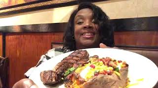 LongHorn Steakhouse   -Birthday Mukbang
