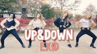 [K-POP IN PUBLIC] RED SPARK | EXID(이엑스아이디) 위아래 (UP&DOWN) cover dance