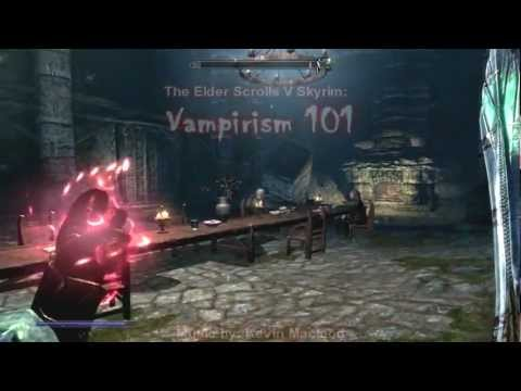 The Elder Scrolls V Skyrim: VAMPIRE BUILDS, ABILITIES, AND ESSENTIAL INFORMATION