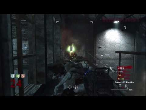 Call of Duty: World at War Nazi Zombies Der Riese 4-Player Strategy (Rounds 23-25)