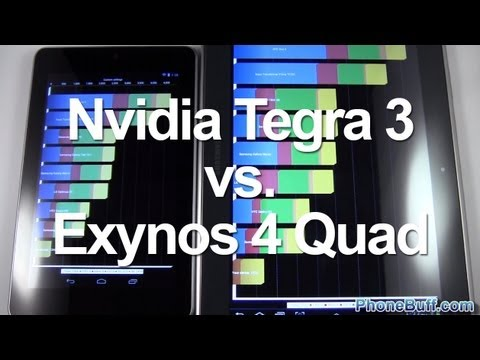 Tegra 3 vs. Exynos 4 Quad GPU Comparison