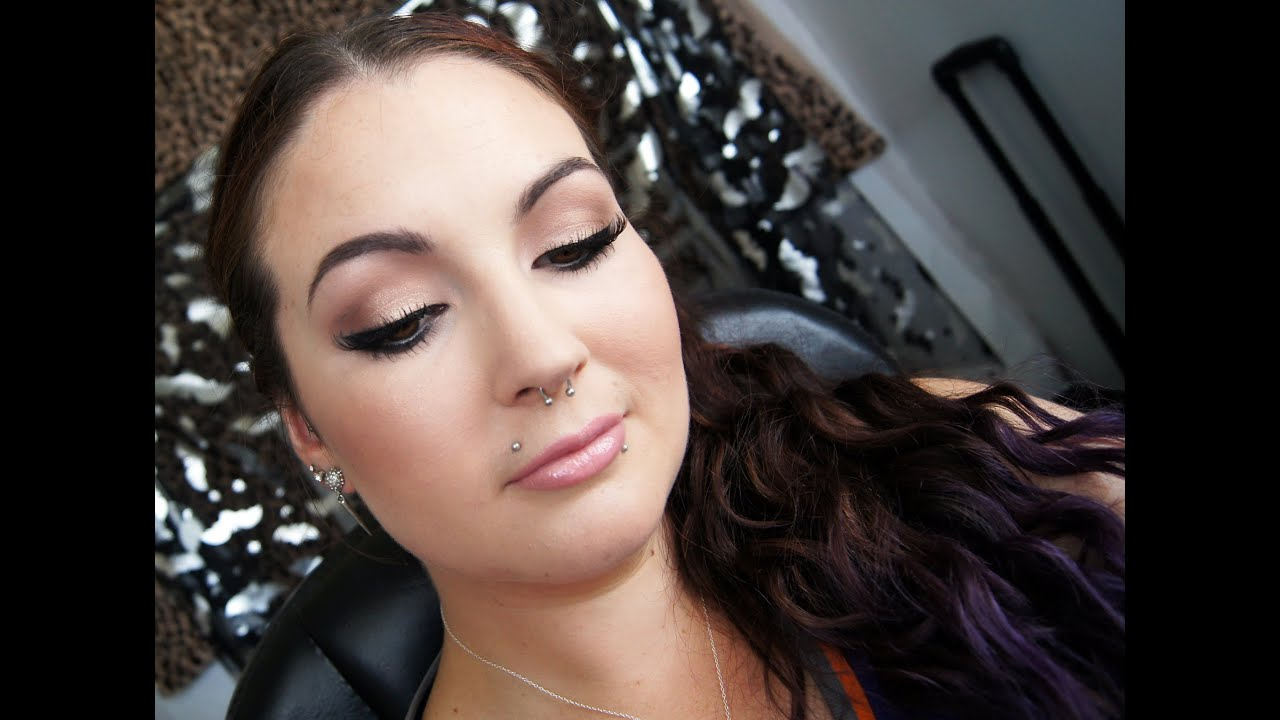 Glamorous Wedding Makeup Tutorial : Glamorous Prom/Bridal Makeup Tutorial - YouTube