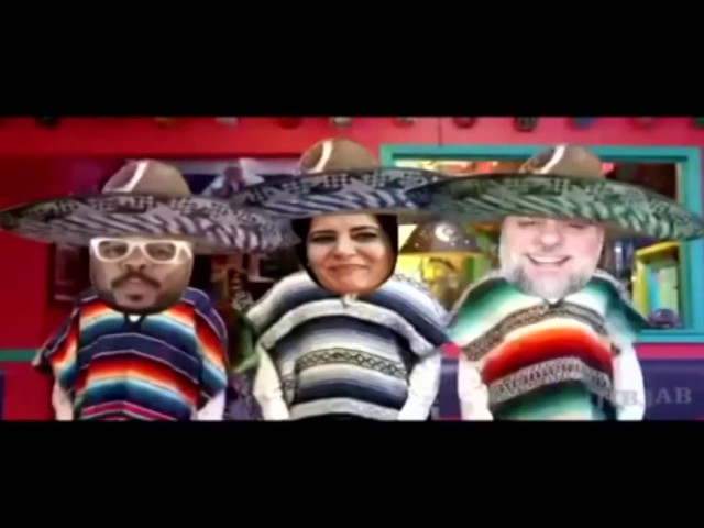 Bom dia Bráulio, Adriana, Marcelo Marrom e Rafael Portugal! Alegria Mexicana e Tequila! Rs!