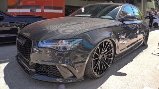 Audi RS6 Avant C7 with Full Carbon Bodykit - SOUND!