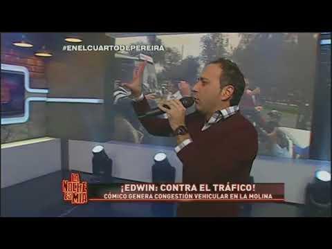 La Noche Es Mía: ¡Edwin Sierra generó tráfico en La Molina!