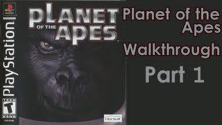 Planet of the Apes Walkthrough Прохождение - Part 1