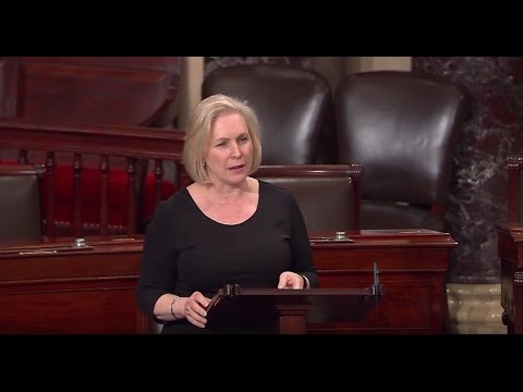 0 - Sen. Gillibrand Urges Support for Women Health Services