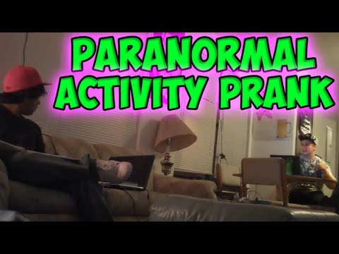 Paranormal Activity Prank video