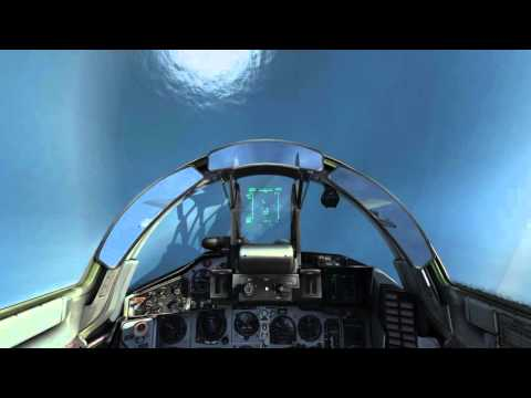 DCS World 1.5 Уход от AIM-120C (AMRAAM missles evade tutorial)
