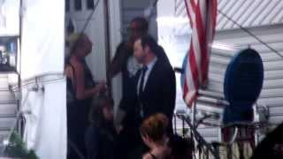 On The Set Blue Bloods