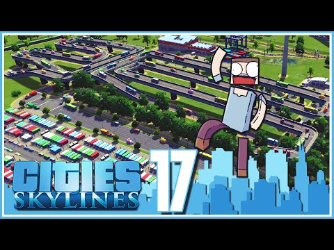 Cities Skylines - Ep.17 : Train Freight Terminal! video