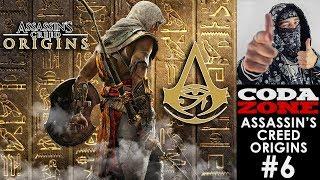 Assassin's Creed Origins - Live #6 - Pchamy ten teatrzyk dalej :)  - CODA ZONE