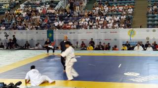 Yuki Maeda Vs Mathew Ah Chow The 6th World Karate Championship