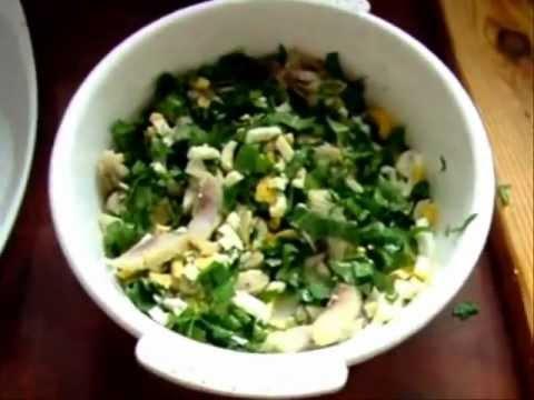 Салатики из одуванчиков