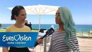 Bilal Hassani aus Frankreich   Speeddate   Eurovision Song Contest