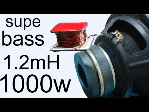 How to increase subwoofer bass, Frequency division tips for bass speakers for stronger sound