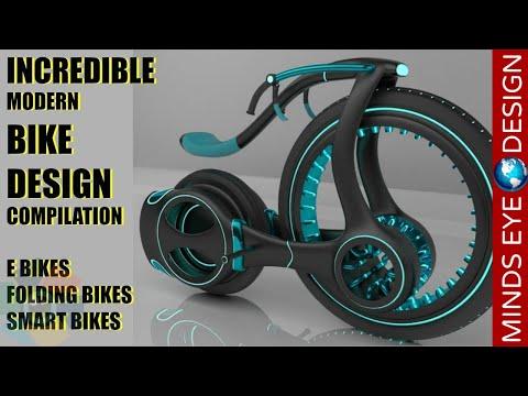 Incredible Modern Bike Design Compilation - Crazy & Cool Bikes