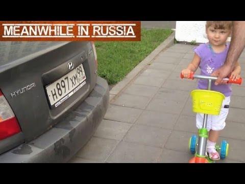 Little Russian Girl Is A Car Expert