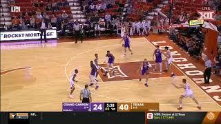 Texas vs Grand Canyon Men's Basketball Highlights