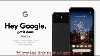Google Pixel 3aSpecs