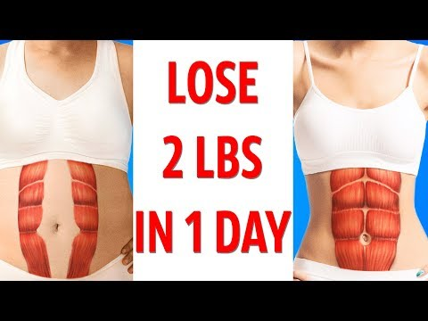 Diet Plan to Lose 2Lbs in 1 Day / 1KG in 1 Day