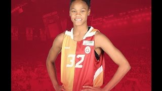 Moriah Jefferson Highlights - Galatasaray. 2016/17
