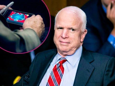 Flashback: Syria Debate While McCain Plays Online Poker
