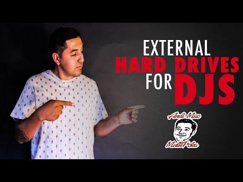 External Hard Drives for DJS?