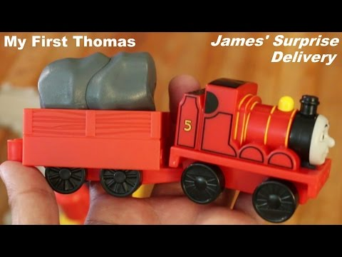 My First Thomas Friends: James Surprise Delivery Playtime w Hulyan Maya