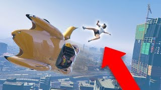 I KICKED HER OUT OF MY CAR IN MID-AIR! *HILARIOUS!* | GTA 5 THUG LIFE #229
