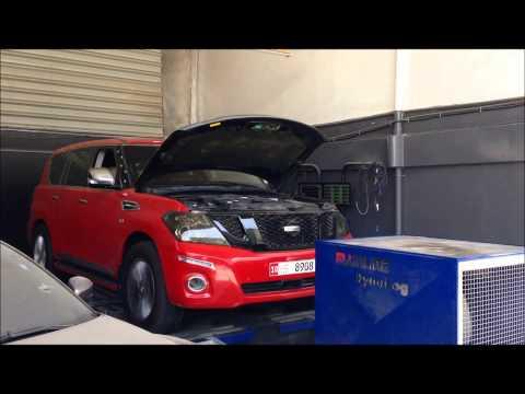 Nissan Patrol LE 5.6L VVEL DIG - Tuning Dyno Results