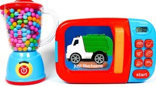 Microwave Playset and Toy Vehicles | Yippee Toys