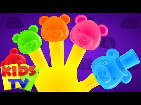 Jelly bears Finger family | nursery rhymes kids tv | finger family kids | finger family rhyme