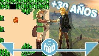 La EVOLUCIÓN de The Legend of Zelda - ¡SORTEO! | N Deluxe