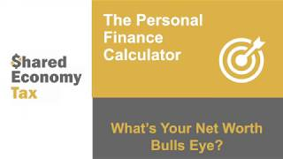 Net Worth: The Personal Finance Calculator