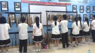 Mission Impossible theme song Angklung Cover (POS STUDENTS)