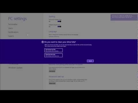 Reset Windows 8 & 8.1 to Factory Default Settings [HD][How To][Tutorial][Step by Step Guide]