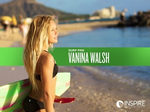 Surf Pro Vanina Walsh in Inspire (tentree & CWF)