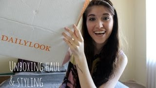 DailyLook Unboxing Haul &amp; Styling
